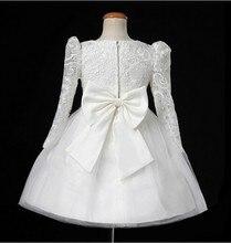 Lace Long-sleeved Bridesmaid Dress