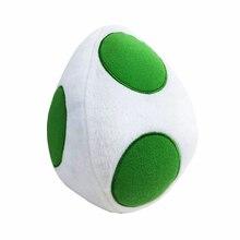 20 см Super Mario Bros Плюшевые игрушки yoshi Дракон яйца плюшевые мягкие с наполнением Животные игрушки куклы для детей Рождественский подарок