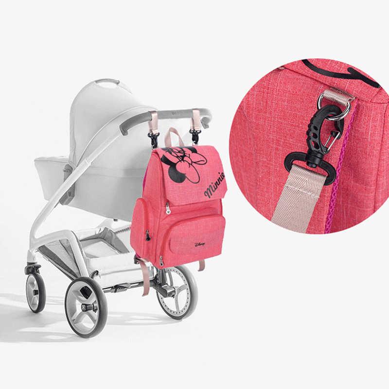 Sac à couches bébé Disney + 3 plus (sacs à crochet, secs et humides, tapis d'extérieur pour bébé) sacs de poussette maternelle sac à dos de maman