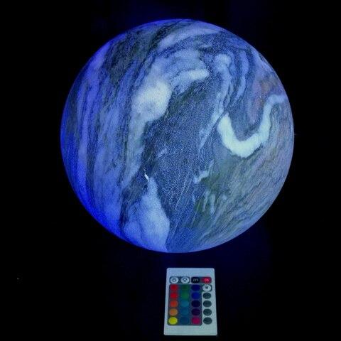 skybesstech 12cm d15cm d20cm d25cm d30cm d35cm led bola esfera luz noturna 16 mudanca de