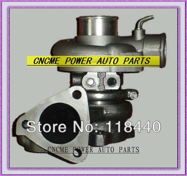 US $140 68 25% OFF|TURBO TD04 49177 01512 49177 01512 Turbocharger For  Mitsubishi Delica L200 L300 4WD Shogun 4D56 DE EC 2 5L D 3 hole water  cooled-in