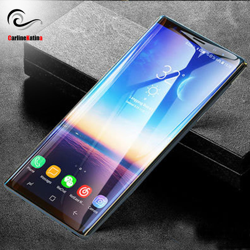 For Samsung galaxy S10 lite Plus Note 9 Full Cover Tempered Glass Screen Protector Curved Edge Film Case 3D 5D 9D 10D Toughened