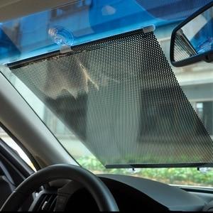 Image 1 - Auto Sun Shades Für Windschutzscheibe 40cm * 60cm Auto Versenkbare Seite Fenster Sonnenschutz Sonnenschutz Vorhang Vorne windschutzscheibe 29