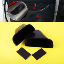 DWCX 1 Pair / 2Pcs Front Door Left Right Storage Box Bin Fit for Toyota Land Cruiser Prado J120 2004 2005 2006 2007 2008 2009