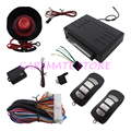 Universal Car Security Alarm System with New Design Remote Transmitters & LED Indicator Suitable for DC 12V Cars Carsmate