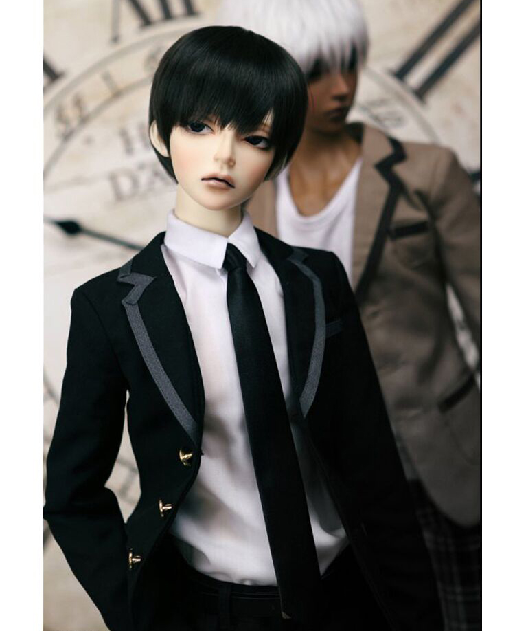 HeHeBJD 1/3 Evan Male Bjd Doll Hot Sale Fashion Dolls Beautiful Make Up Free Eyes