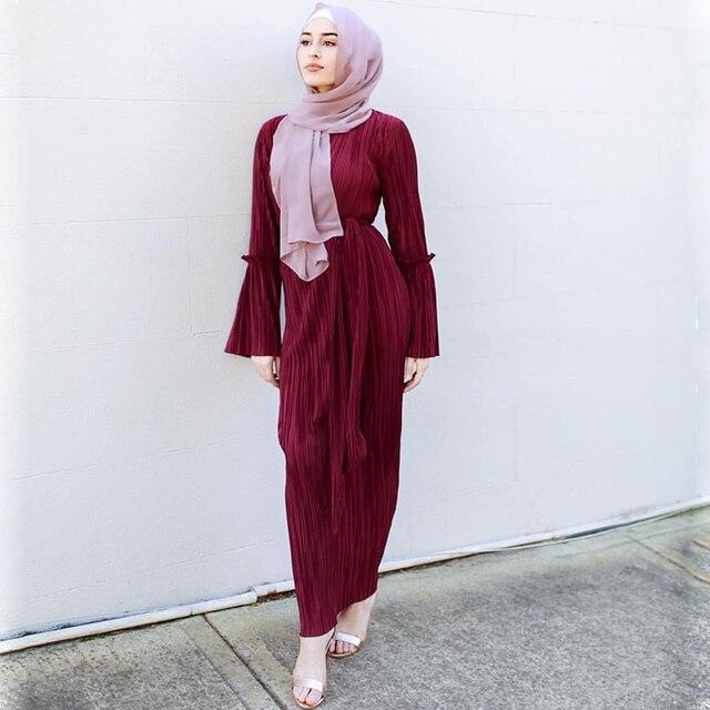 איחוד האמירויות הערביות abayas לנשים flare שרוול העבאיה ערבית מרוקאי מוסלמי שמלת djellaba טורקיה קפטן jilbab העבאיה דובאי האסלאמיים