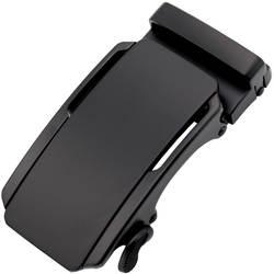 3,5 см Ширина Для мужчин с поясом пряжки Лидер продаж Для мужчин ремень из натуральной кожи черного цвета Автоматическая пряжка ремня из