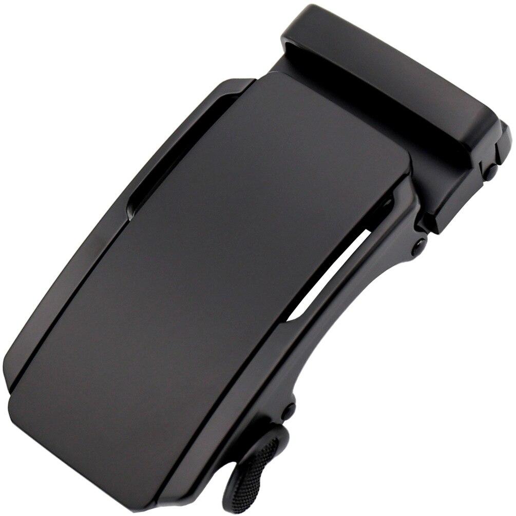 3.5cm Width Men's Belt Buckles Hot Sale Men Belt Genuine Leather Black Automatic Belt Buckle Metal CE5-02621
