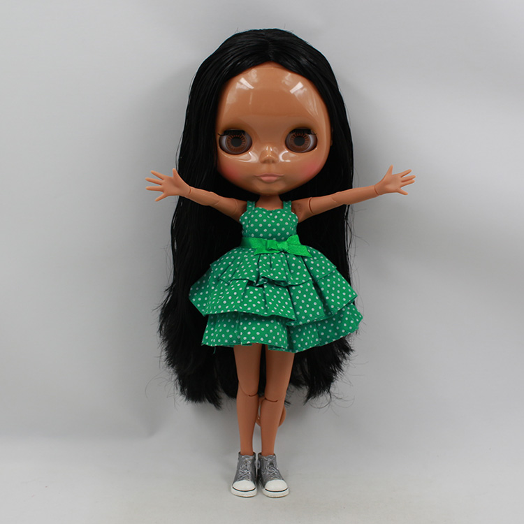 12 inch fashion dolls boneca negra blyth doll with joint bdoy  bjd doll 1/6 baby dolls for girls bjd doll 1 6 boneca negra blyth doll with joint body bonecos colecionaveis blyth nude doll baby dolls for girls