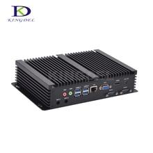 Мини embedded pc Intel Core nuc i3 4010U/5005U i3/i5 4200U dual core Intel HD Graphics HDMI 2 * COM rs232 VGA HTPC