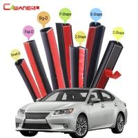 Cawanerl Full Car Rubber Seal Edge Trim Weatherstrip Auto Sealing Seal Strip Kit For Lexus ES ES300 ES350 ES240 ES250 ES330