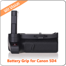 Vertical battery grip for Canon EOS 5D4 Mark4 IV DSLR Digicam work with LP-E6N LP-E6 battery