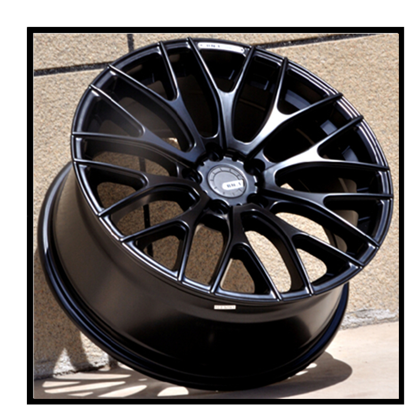 Best Ing Matt Car Parts Black Machine Replica Aluminum Alloy Wheel Rim Size 17 7 5 114 3 In Rims Accessories From Automobiles
