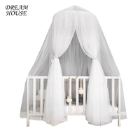 Net For Baby Crib Fome Crib Netting For Infant Baby Hung Dome Mosquito Net Hanging Mosquito