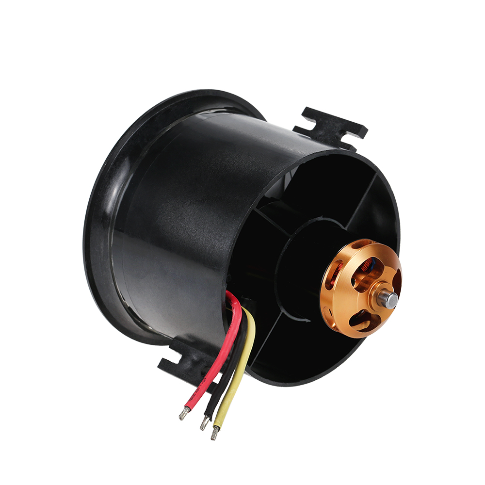 Register shipping 1 set RC Motor 70mm EDF Set 2827 2600KV Motor 10 Blades Ducted Fan for RC Airplane