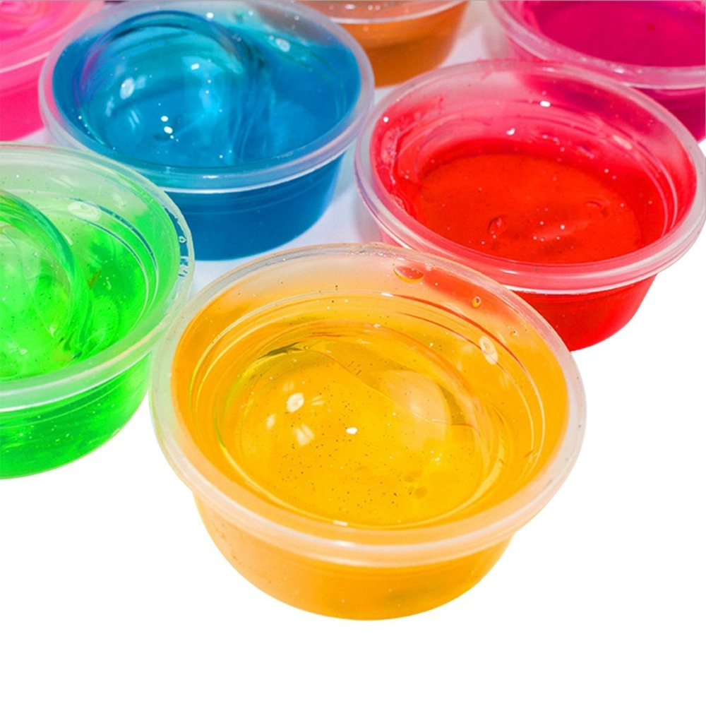 soft slime toy magic colorful clay toy 12 box of slime with 12