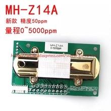 משלוח חינם MH Z14 MH Z14A אינפרא אדום פחמן דו חמצני חיישן מודול אנלוגי פלט סביבת ניטור 0 5000ppm