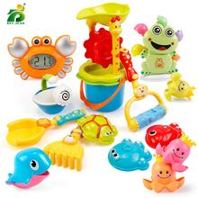BEI JES Beach Toys high quality Bucket Rakes Sand Wheel Watering Outdoor Play Bath For Children Gifts
