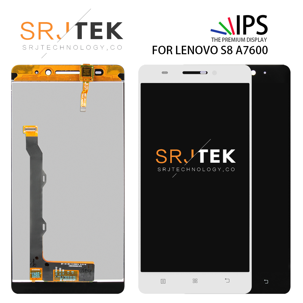 SRJTEK 5.5 For Lenovo S8 A7600 Screen Display LCD Touch Digitizer Sensor Replacement With Frame For Lenovo A7600 Displsy GlassSRJTEK 5.5 For Lenovo S8 A7600 Screen Display LCD Touch Digitizer Sensor Replacement With Frame For Lenovo A7600 Displsy Glass