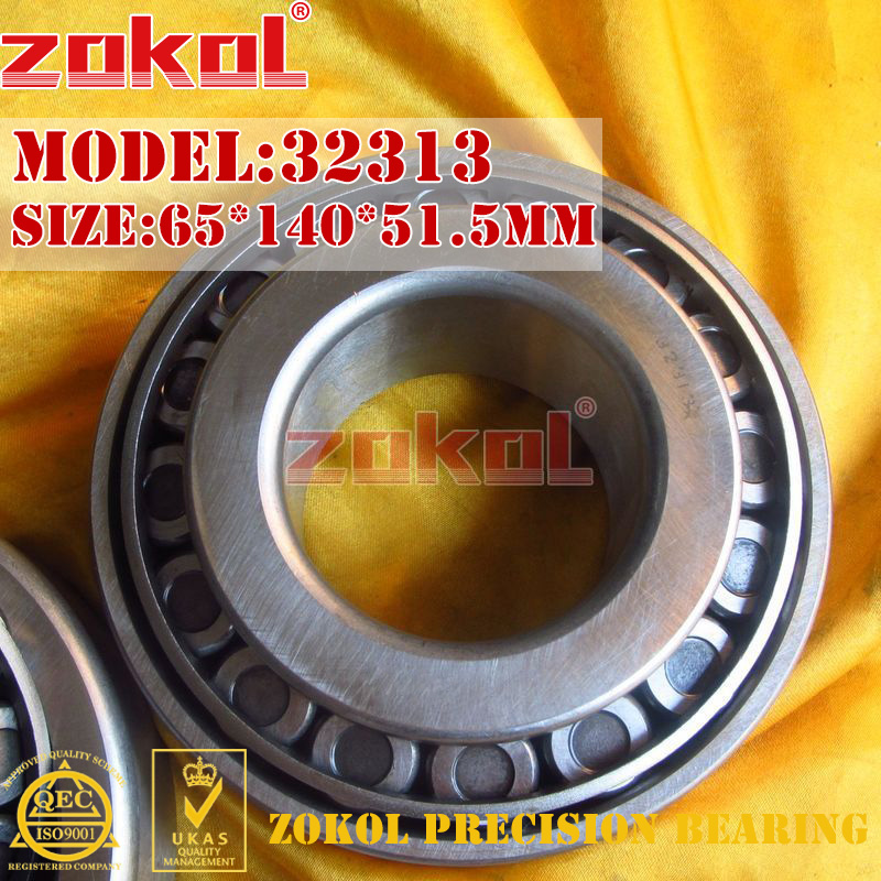 ZOKOL bearing 32313 7613E Tapered Roller Bearing 65*140*51.5mm цена