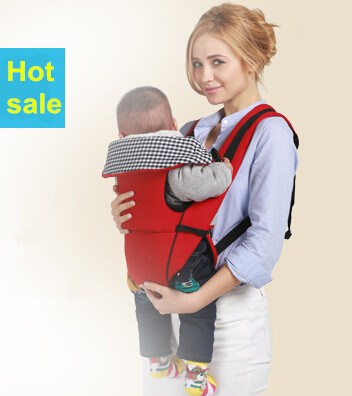 Baby carrier sling Four Seasons breathable baby waist stool multifunctional oblique shoulders back seat baby stool