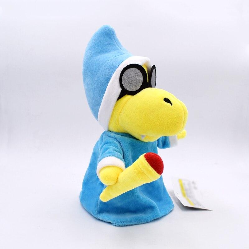 2018 New 28cm Super Mario Kamek Magikoopa Series Stuffed Plush Toy Soft Doll Gift For Children Birthday Gift Free Shipping 2