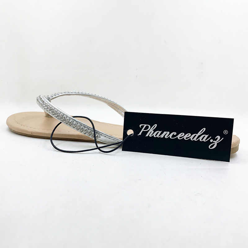 Nuovo 2020 Scarpe Da Donna Scarpe Estate Sandali Perline e Fiori Casual Scarpe Fibbia Spiaggia Floreale Sandali Per Le Donne Infradito