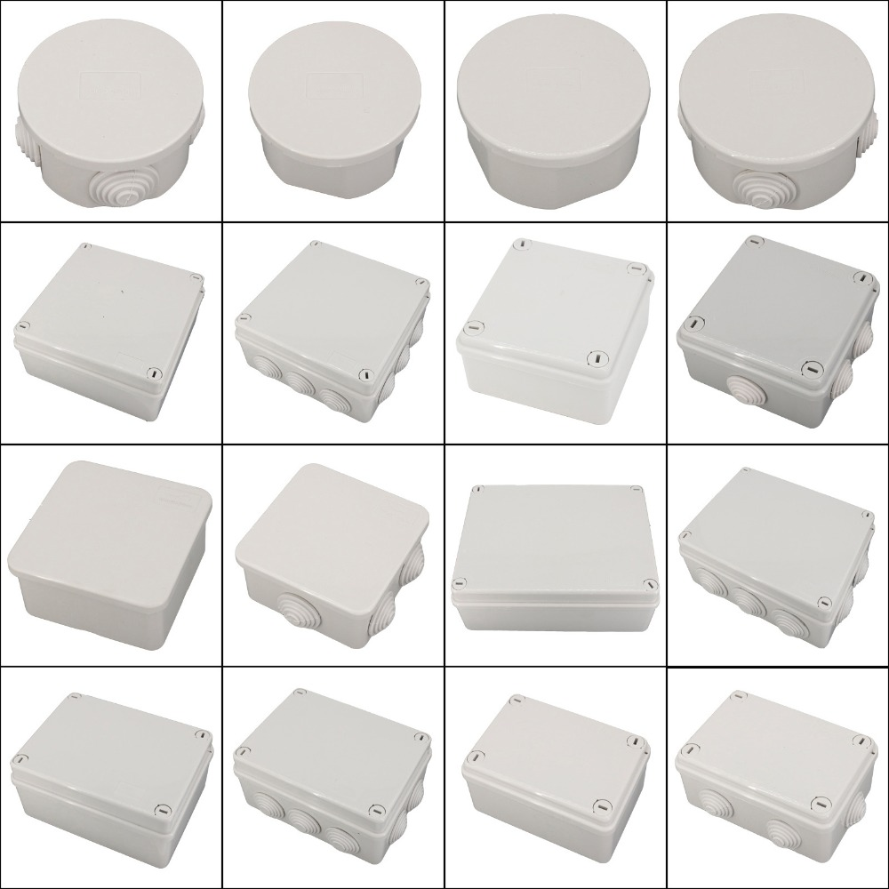 Waterproof Junction Box Wholesale ABS Plastic IP65 DIY Outdoor Electrical Connection box Cable Branch 150x150x70mm
