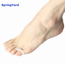 SpringYard (2 pairs/lot) Gel Small Toe Separator Overlapping Toes Hallux Valgus Orthopedic Soft Cushion Foot Care