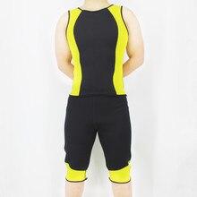 цена на Riaude New Body Shapers Vest New Slimming Vests Neoprene Waist Trainer Sweat Vest Corset Tummy Belly Shirt Shapers T-Shirt Sauna