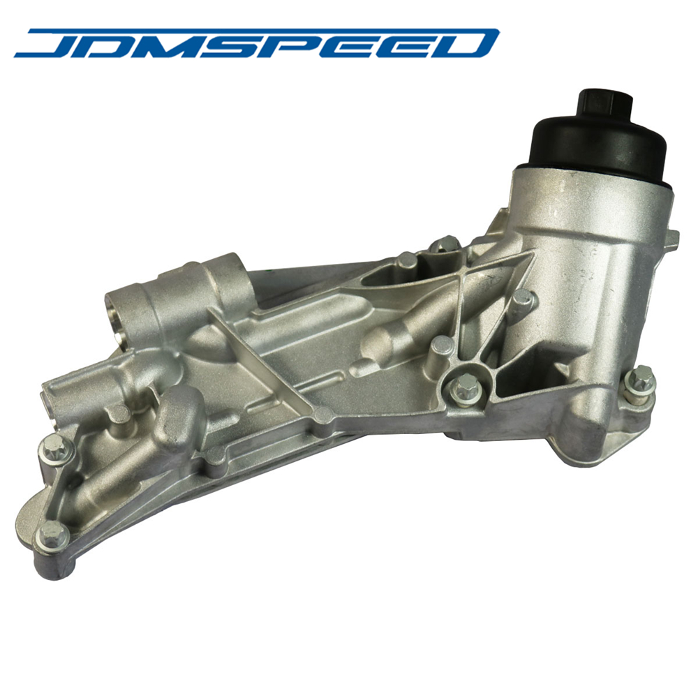 Free Shipping JDMSPEED Engine Oil Cooler W Oil Filter Assembly 25199751 93186324 12992593 Fit For GM