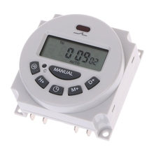 цена на DC12V AC220V Digital LCD Weekly Programmable Time Switch Relay Electronic Timer