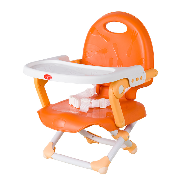 цена на Portable Baby Dining Chair Multifunctional Folding Baby Booster Seat Highchair Table Plate Adjustable Infant Safety Seat 6M~3Y