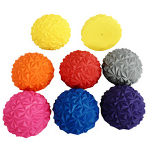 8 Colors Inflatable Half Stress Ball For Kids Point Massage Stepping Stones Pilates Fitness Balance Ball Children Rubber Fun Toy solid stepping stones for the christian s journey