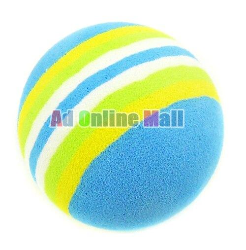 Soft Indoor Sponge Practice  Golf Balls  Training Aid Drop Shipping 5PCS/LOT