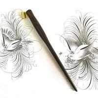 High Quality English Calligraphy Copperplate Oblique Dip Pen Holder Handmade European Vintage Dip Pen