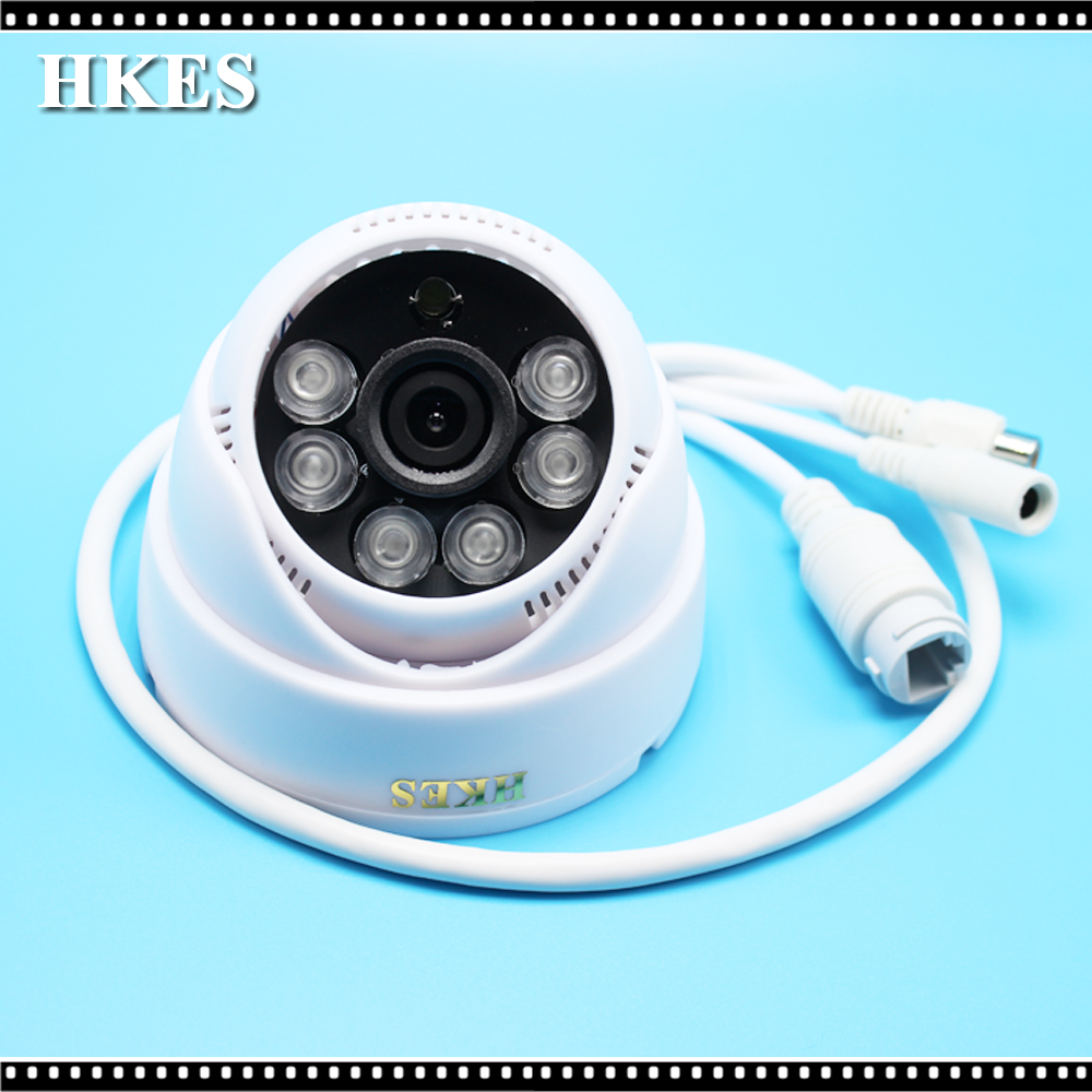 Wholesale 16pcs/lot cctv mini ip camera wired surveillance system home security 720P support onvif audio indoor