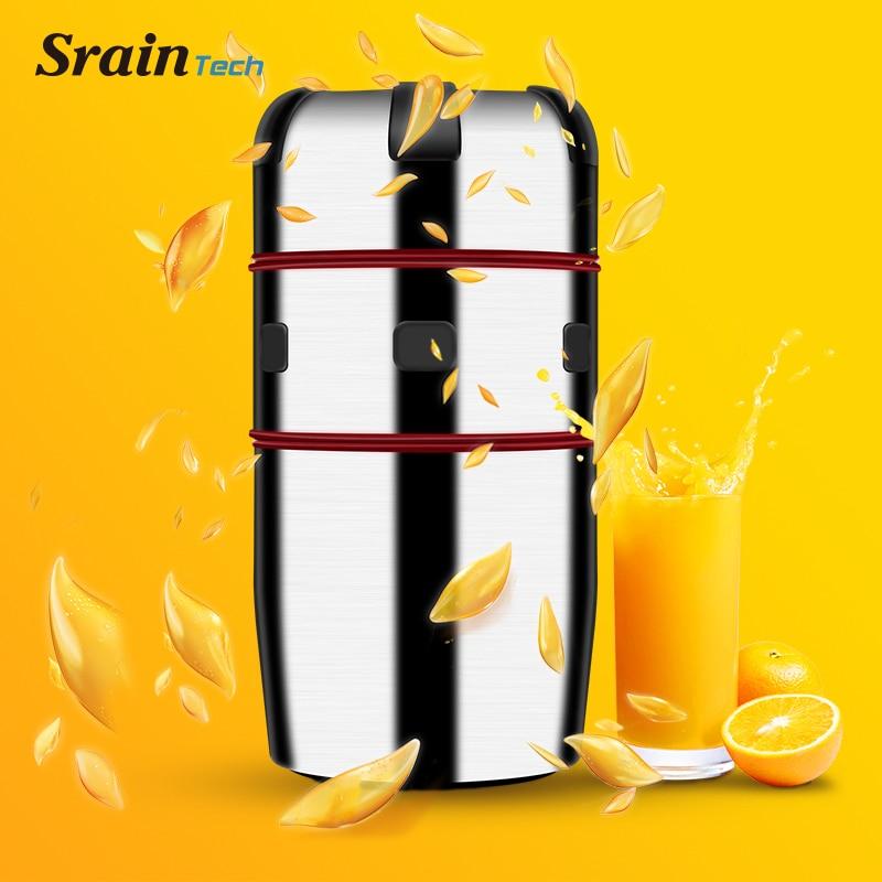 High Quality Stainless Steel Manual Citrus Juicer for Orange Lemon Fruit Squeezer 100% Original Juice Healthy Potable Juicer цены