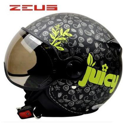 Casco moto classico ZERUS Casco moto lusso di alta qualità DOT ECE approvato