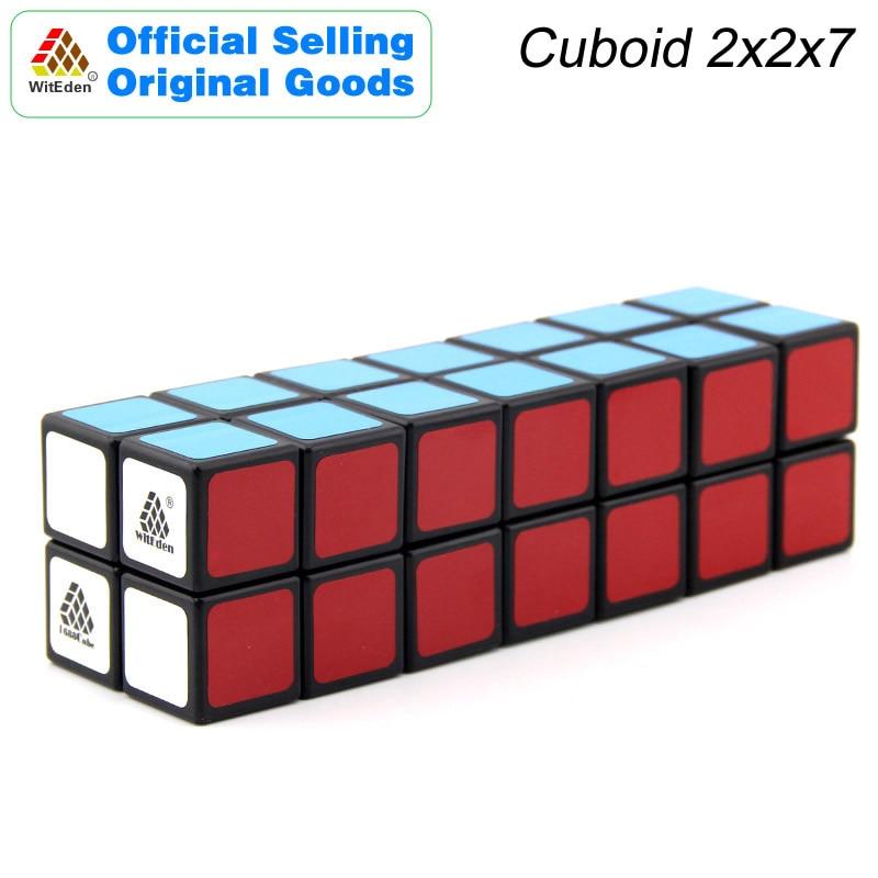 WitEden 2x2x7 Cube magique cuboïde 1C 227 Cubo Magico professionnel vitesse néo Cube Puzzle Kostka Antistress Fidget jouets pour enfants