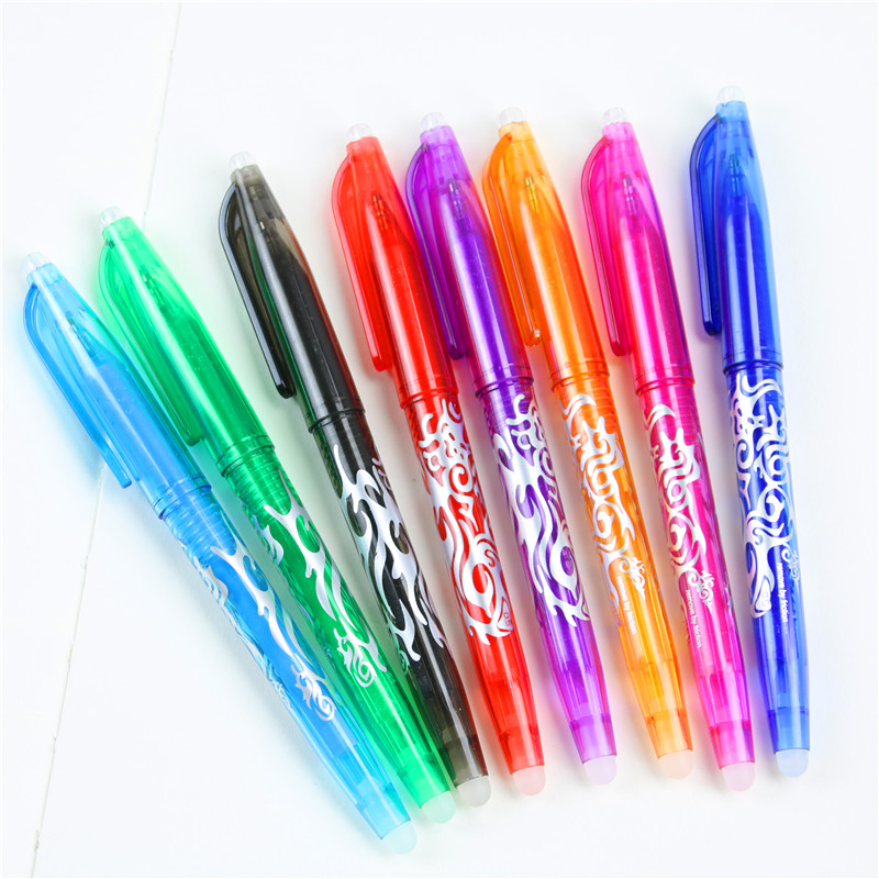 8 Colors For Choose 0.5mm Kawaii Pilot Erasable Pen Magic Gel Pen School Office Writing Supplies Student Stationery