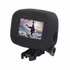 Image 3 - ORBMART Sponge Foam Cover Case Wind Noise Reduction Windshield Enhanced Audio Capture For Gopro Hero 5 6 7 8 Black Sport Camera