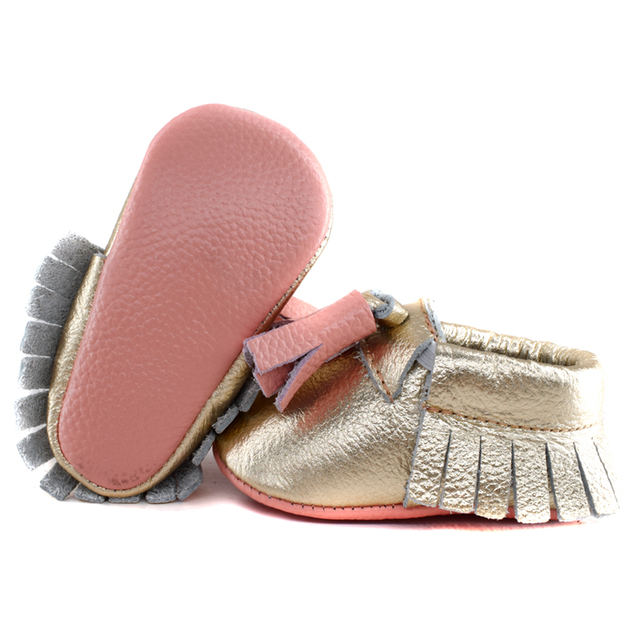 New fringe genuine leather Baby Shoes Tassel high quality Baby boys First Walkers Fashion Shoes baby moccasins combine