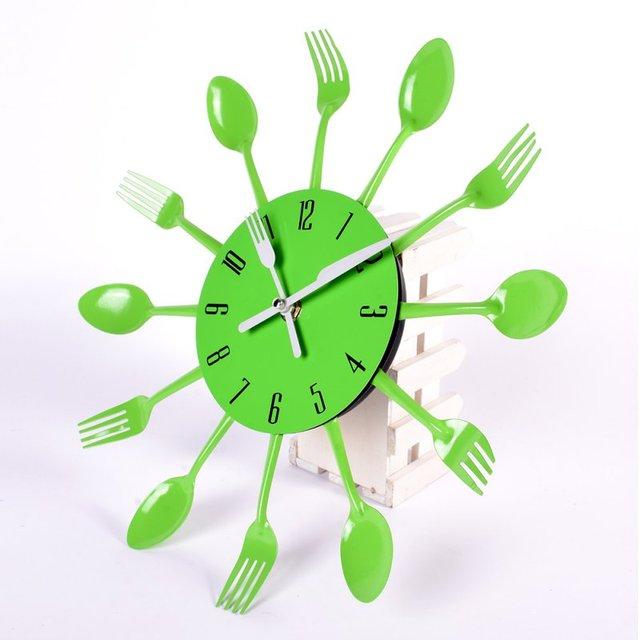 Neueste 3D Wanduhr Küche Wand Uhr Uhren Quarzuhr Für Home Office ...