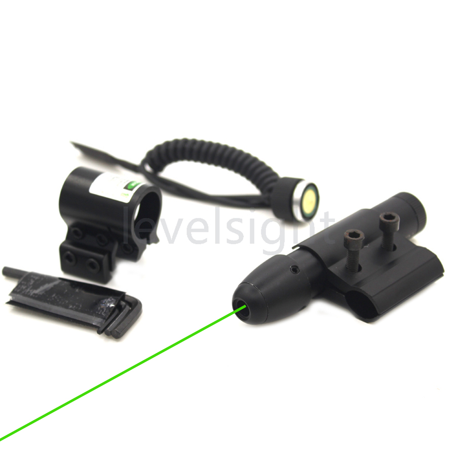 Hunting Tactical Red Dot Laser Sight Pointer <font><b>11mm</b></font>/20mm Picatinny Rail Mount Laser Sight Dot Scope for Hunting Airsoft Riflescop
