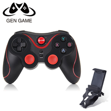 Gen Sport S5 Wi-fi Bluetooth Gamepad Bluetooth three.zero Joystick Sport Controller for Android Smartphone Pill PC with Holder