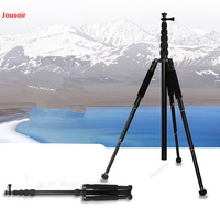 Camera stand tripod handheld portable outdoor travel steady SLR live tripod micro compact light CD50 T07