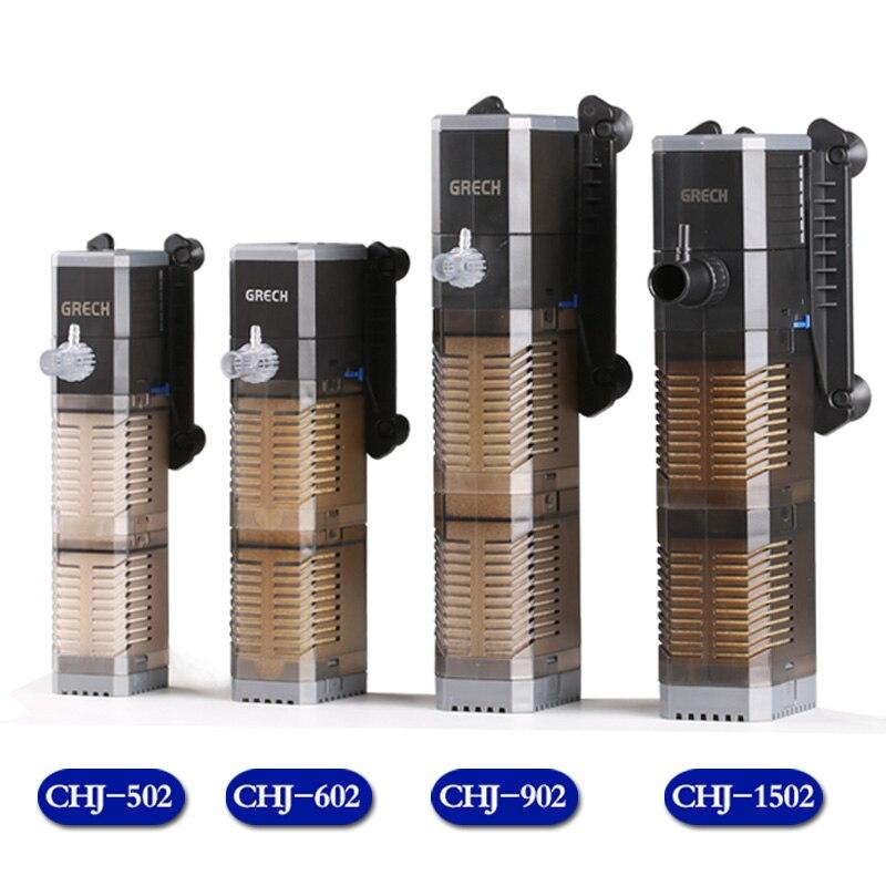 220 240v submersible filtration pump internal filter mini for Internal fish tank filter