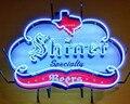 Изготовленный На Заказ Shiner Beers Texas специальная стеклянная неоновая световая вывеска пивной бар